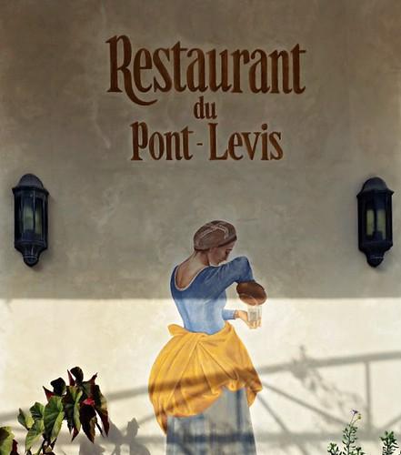 Train des Pignes - Restaurant du Pont-Levis