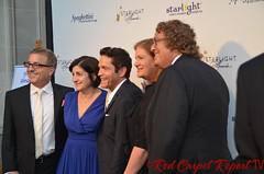 Music producer Jeff Koz, Audrey's Cookies Founder & CEO Roberta Koz Wilson, musician Dave Koz, Carol Shiffman, and Starlight Childrens Foundation Global Board Chair Roger Shiffman at the 2014 Starlight Awards #starlightonline DSC_0010