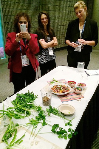 #FNCE workshop: From Drab to Delicious, Food Photography and Styling Tips for Dietitians