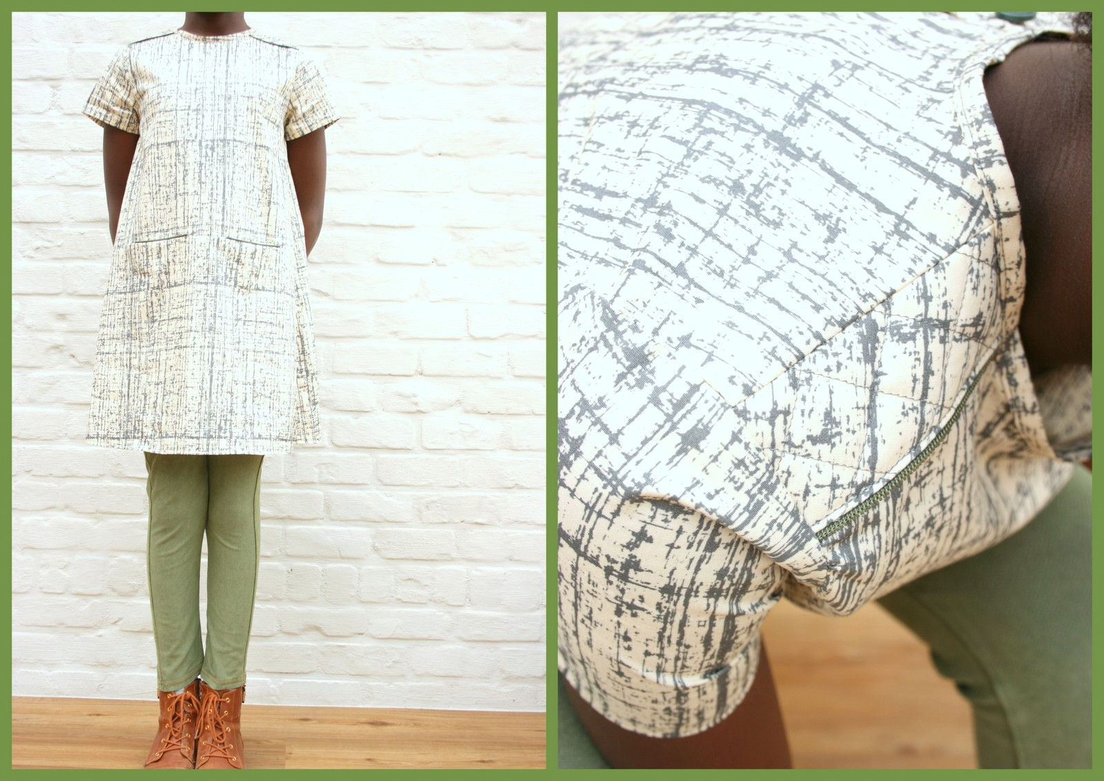 A-lijn jurk (collage2)