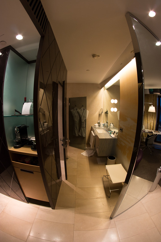 Bathroom in Wonderful Room | W St. Petersburg Review