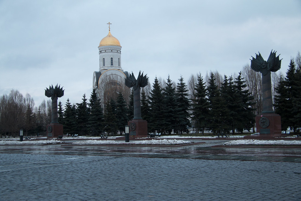 St. George's Church Near Victory Park in Moscow