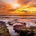 Sunset at Ocean Beach, San Diego, California