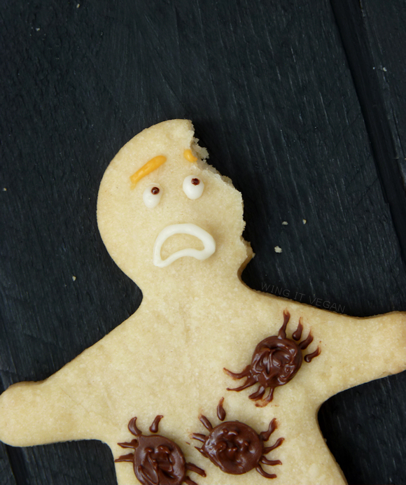 Arachnophobia Cookies