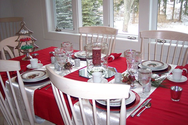 Decked out Dining Room