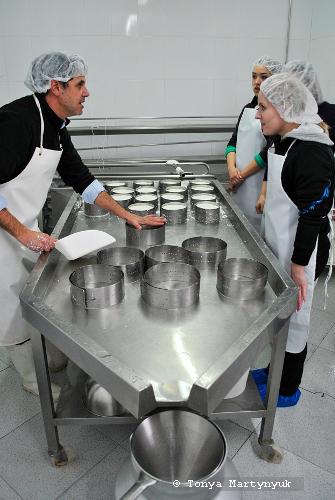5 - мастер-класс по приготовлению сыра - традиции Португалии
