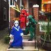 Aliens and Ninjas. #Halloween