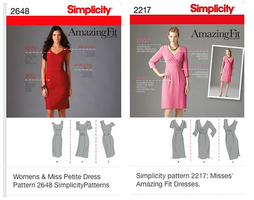 Simplicity Amazing fit patterns