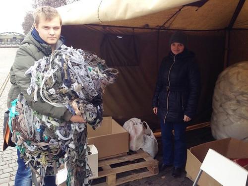Захисна сітка для військовослужбовців у зоні АТО (31.10.2014)