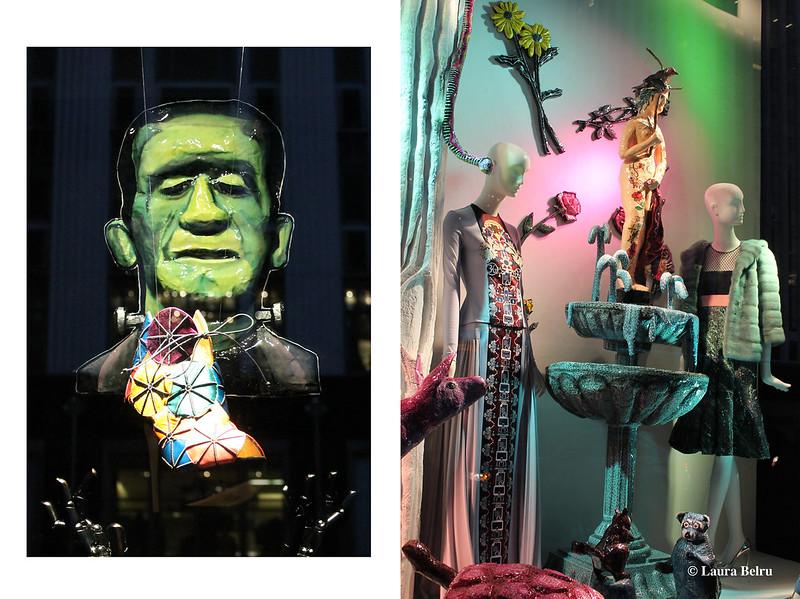 Halloween Window Displays at Bergdorf Goodman