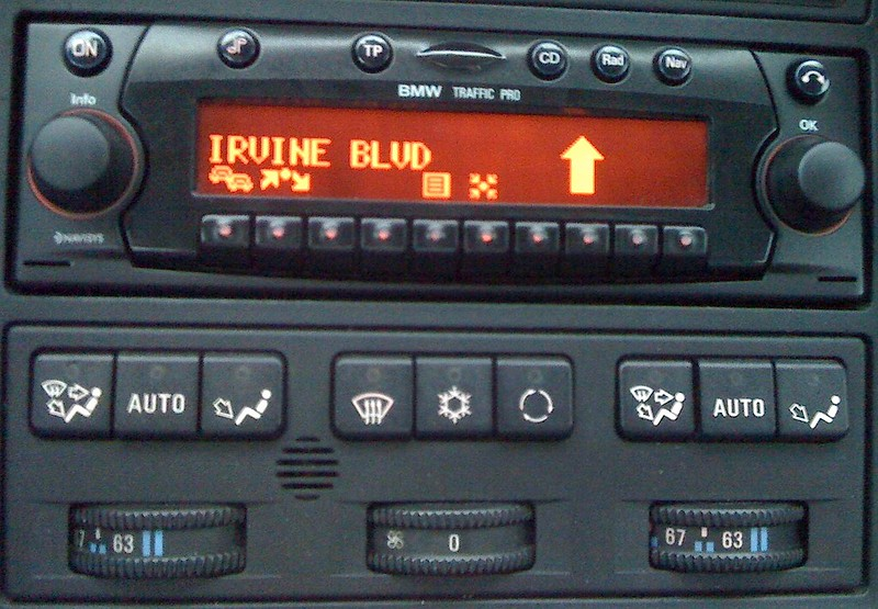 Fs Bmw Becker Traffic Pro Be 4771 Complete In Dash Cd