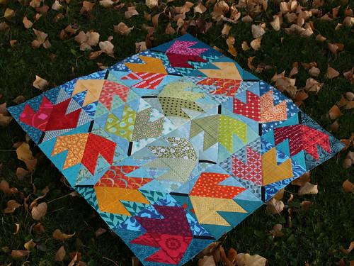 Leaf Quilt 2