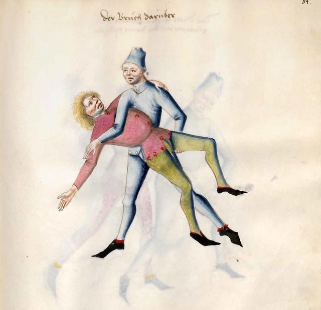017-Kal Paulus Fechtbuch gewidmet dem Pfalzgrafen Ludwig- BSB Cgm 1507- Bayerische StaatsBibliotehek