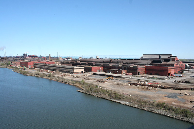 ArcelorMittal Indiana Harbor steel mill