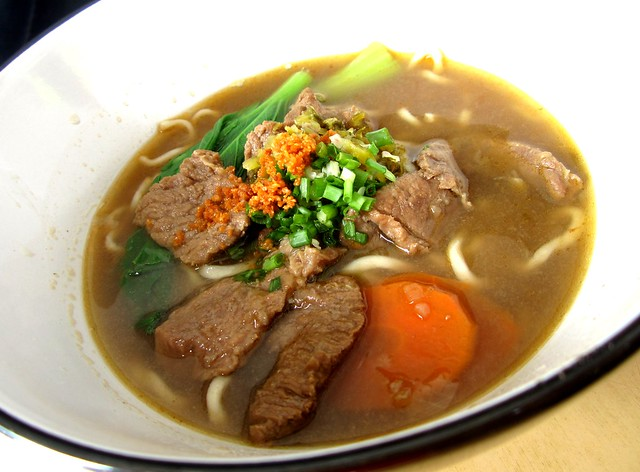 Yummy Kafe beef noodles, soup