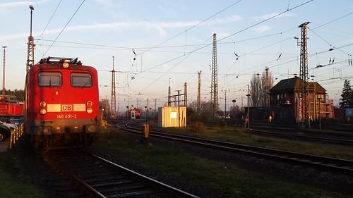 sunrise germany railway trains bremen sonnenaufgang gröpelingen