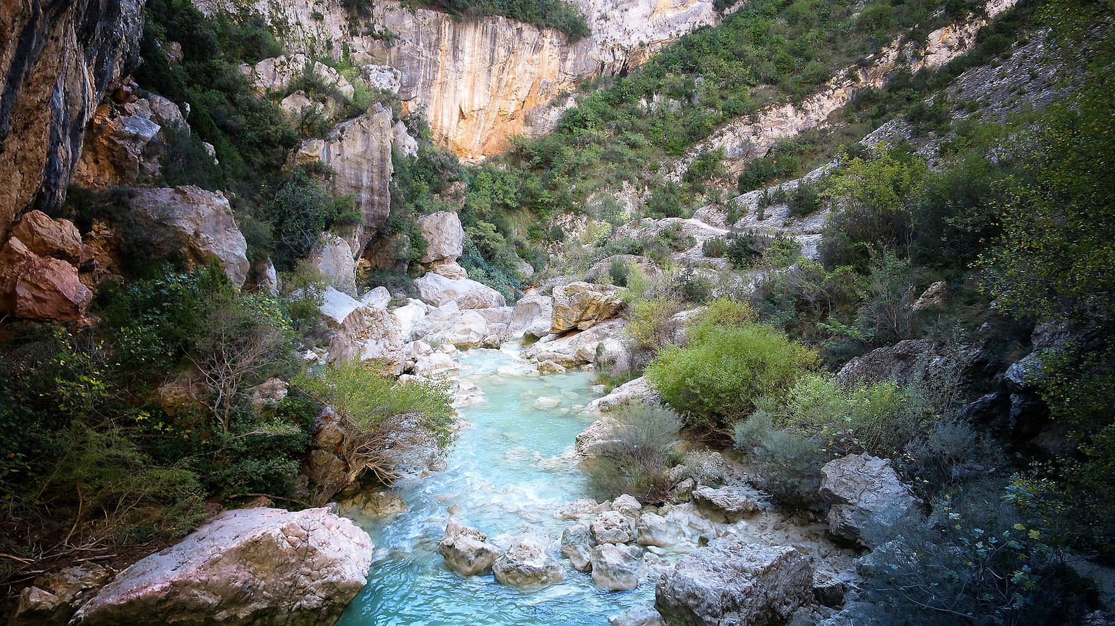 Camino Natural de Somontano: Alquézar - Asque - Colungo