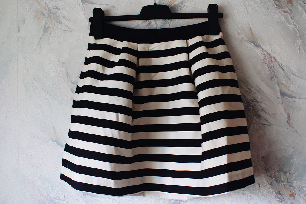 a-line-striped-skirt-H&M