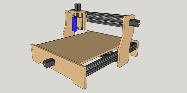 New machine build 8020 mdf based cnc router the size is pretty much dictated by the 4 x iko lwl 15 linear guides that my brother sent me the rails measure 31 so i decided to make my design around greentooth Image collections