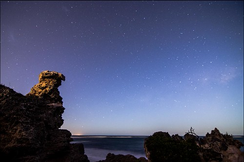 longexposure beach stars landscape coast nikon space tokina astrophotography perth coastline dslr milkyway pointperon 1116mm d5100