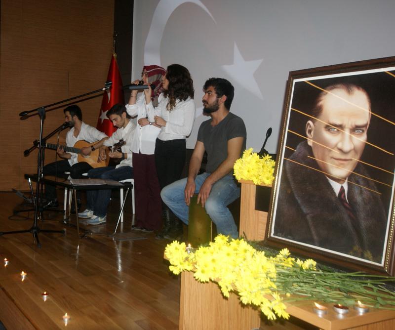 Atatürk, en sevdiği Rumeli Türküleriyle anıldı… 2