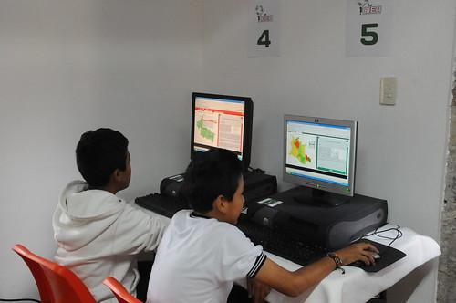 El Centro de Información y Educación Ambiental, que abrió el Ayuntamiento de la Capital en la reserva ecológica de la presa de San José, en el terreno conocido como Casa Colorada