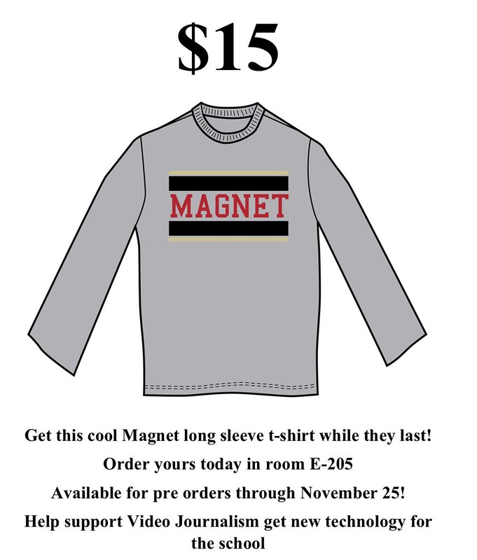 Caddo Magnet HS: long sleeve t shirts from VJ Magnet