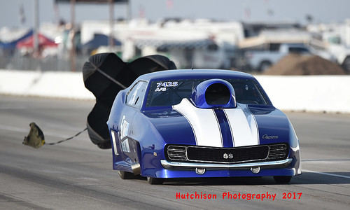 A Gas champ Mike Mossi ran a near perfect 7.606 in the finals