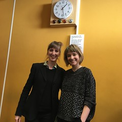 Lucy Claire and Naomi McLean on Resonance FM's Hello GoodBye Show on Saturday 25th March 2017
