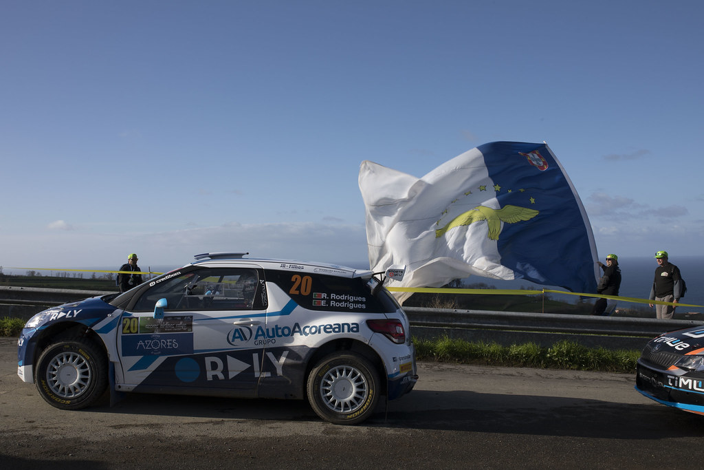 20 RODRIGUES Ruben RODRIGUES Estevao Citroen DS3R5 Ambiance Portrait during the 2017 European Rally Championship ERC Azores rally,  from March 30  to April 1, at Ponta Delgada Portugal - Photo Gregory Lenormand / DPPI