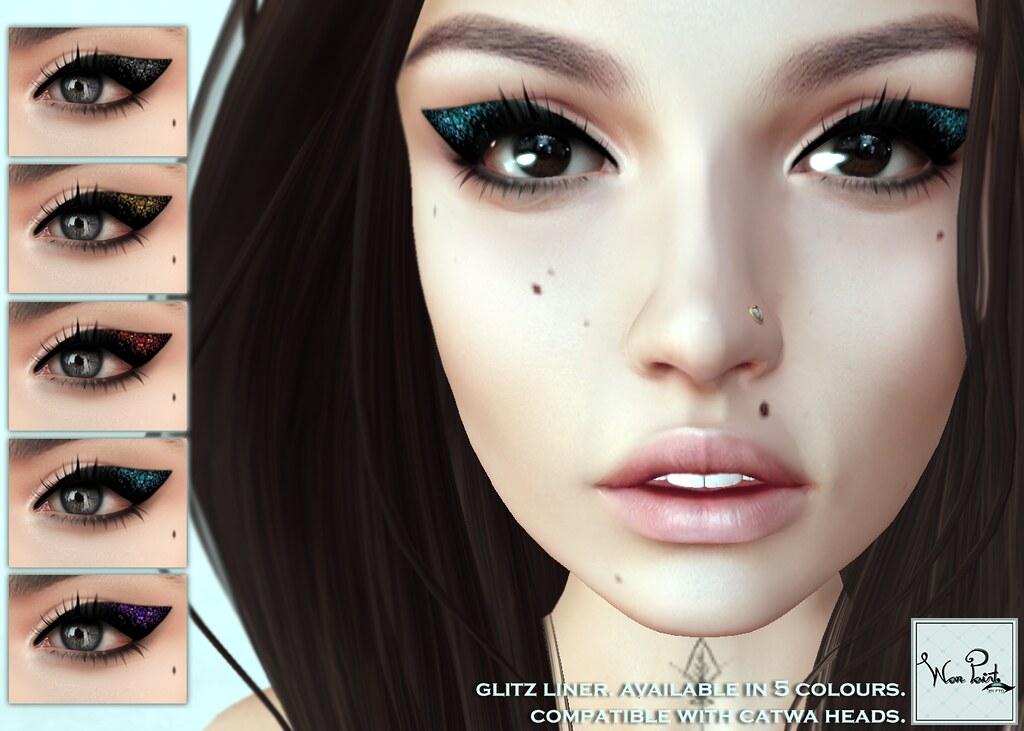 WarPaint* @Applique - Glitz liner - SecondLifeHub.com