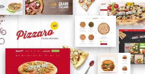 Pizzaro WordPress Theme free download