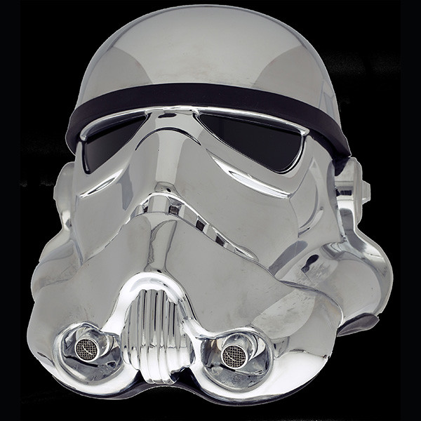 【官圖&販售資訊公開】星際大戰40週年紀念:1/1 帝國風暴兵頭盔複製品 電鍍仕樣 40th ANNIVERSARY COMMEMORATIVE STORMTROOPER HELMET