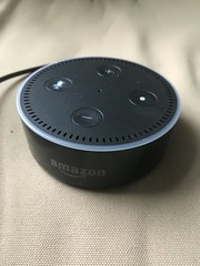 Amazon dot photo