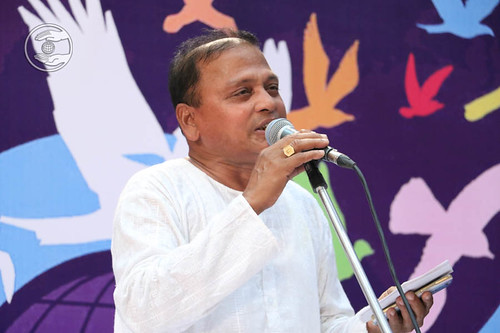 Devotional song by Alekh Gharai from Bhubaneshwar, Odisha