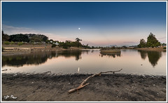 Sonstraal Dam Moon rise.. Cape Town, South Africa