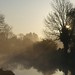 dawn at Bishops Cannings by Dru Marland