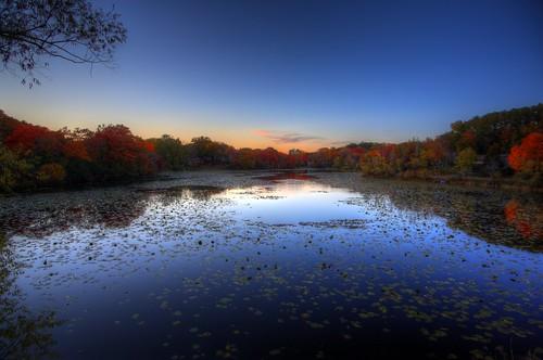 sunset lake 3 fall minnesota canon landscape eos mark iii wing 5d tamron mn hdr minnetonka 19mm photomatix