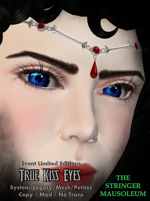 The Stringer Mausoleum - True Kiss Eyes - Limited Editions
