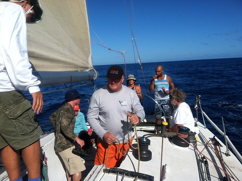 Lahaina Return on Gerontius Farr 42 out of Waikiki Yacht Club
