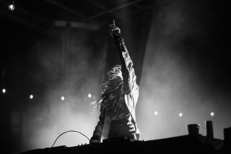 Skrillex at Skrillex in the Streets | 10-16-2014