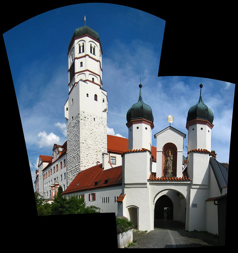 Dillingen Schloss Pano