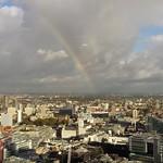 Rainbow view...