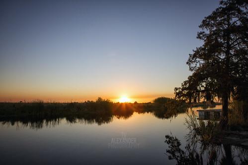 sunset sun sunlight canon louisiana bayou madisonville sttammanyparish 5dmarkiii tyalexanderphotography