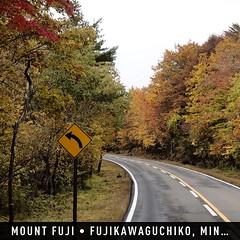 วิวทางขึ้น #ภูเขาไฟฟูจิ เมื่อเช้านี้ #instaplace #instaplaceapp #place #earth #world  #ทราเวิลโปร #travelprothai #japan #JP #fujikawaguchiko,minamitsurugun #mountfuji #street #day