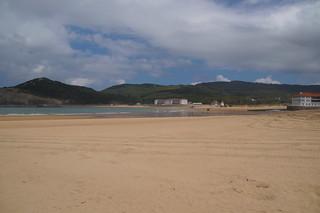 439 Uitzicht bij baai Plentzia