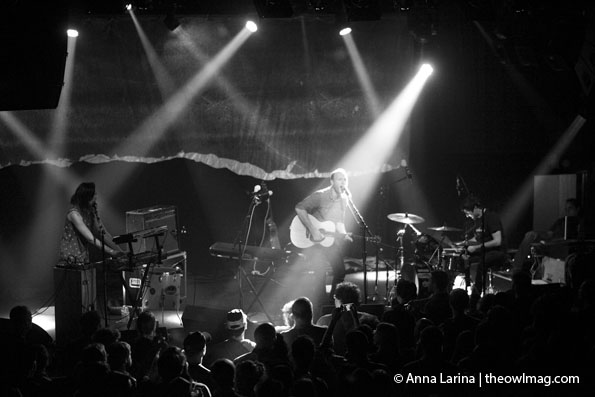 The Rural Alberta Advantage @ The Independent, SF 10/27/14