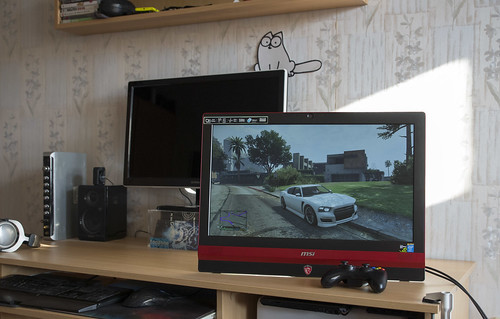 MSI Gaming all in one PC, arba didelis 24 ateities tablet