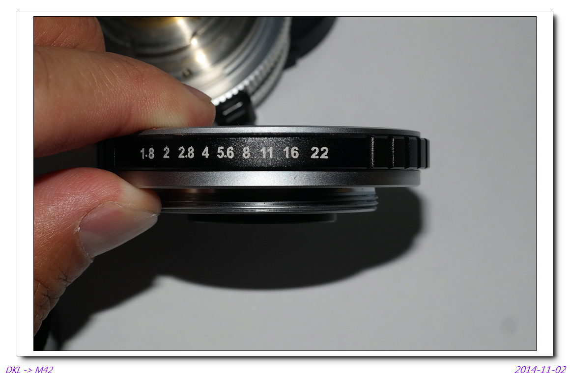 Schneider Kreuznach Xenar 45mm/f2.8~