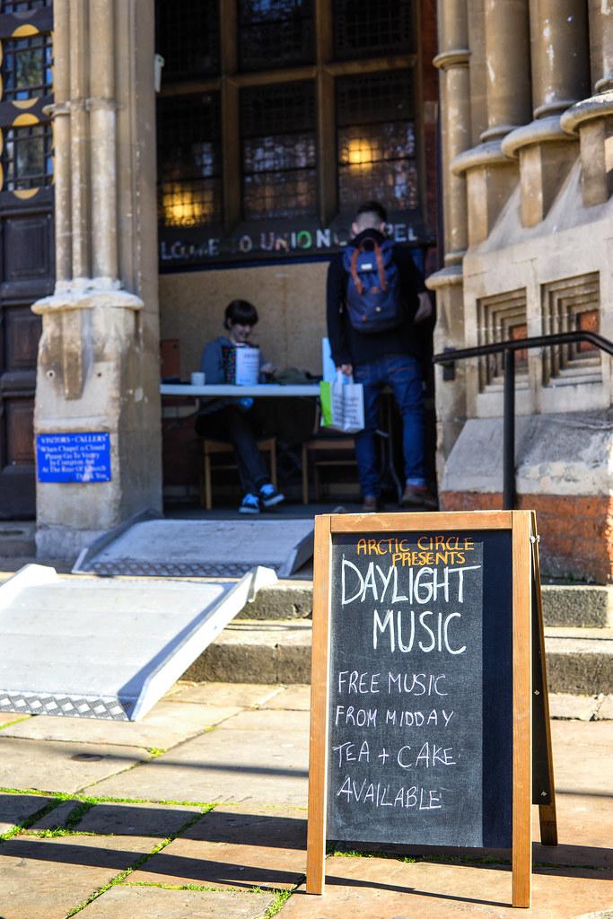 Daylight Music 1st Nov - Welcome